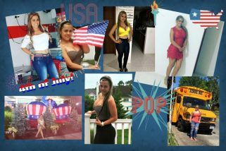 Meet Ceidy in the US this 4 of July!